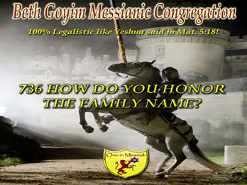 Beth Goyim Messianic Congregation – Jew and Gentile as one in